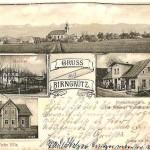 1903r. sklep z agnecją pocztową