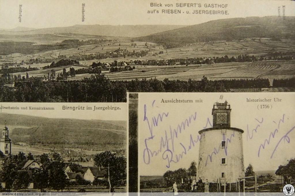 Grudza na pocztówce z początku XX wieku