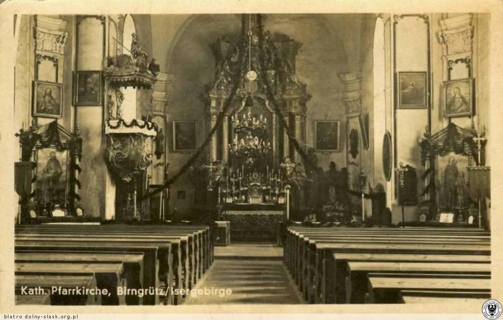 Wnętrze Kościoła Grudza