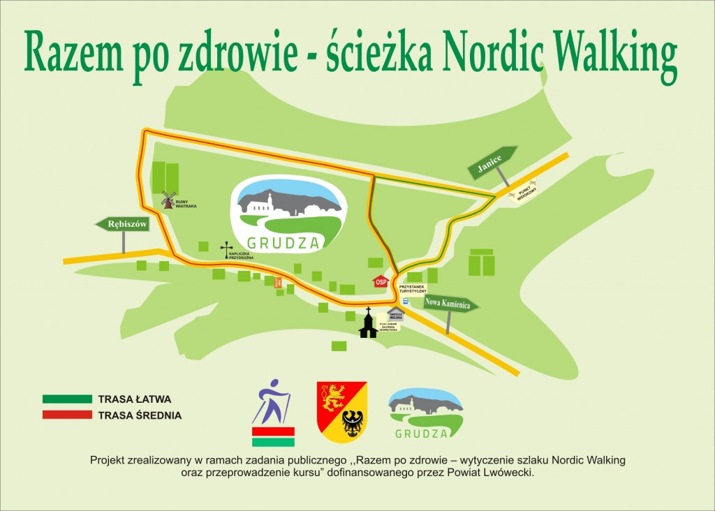 mapa grudza