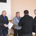 Wreczenie dyplomu i nagrody dla sołectwa Janice