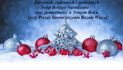 tapeta-brokatowe-bombki-i-choinka-na-sniegu